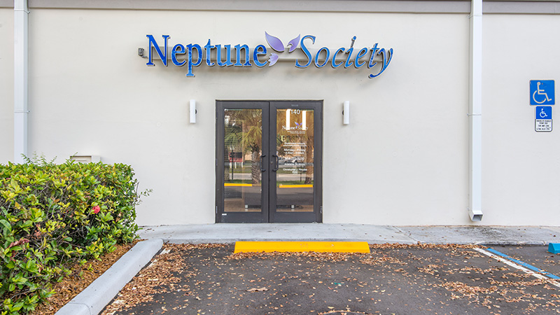 Neptune Society Plantation, FL Office - Front of Building