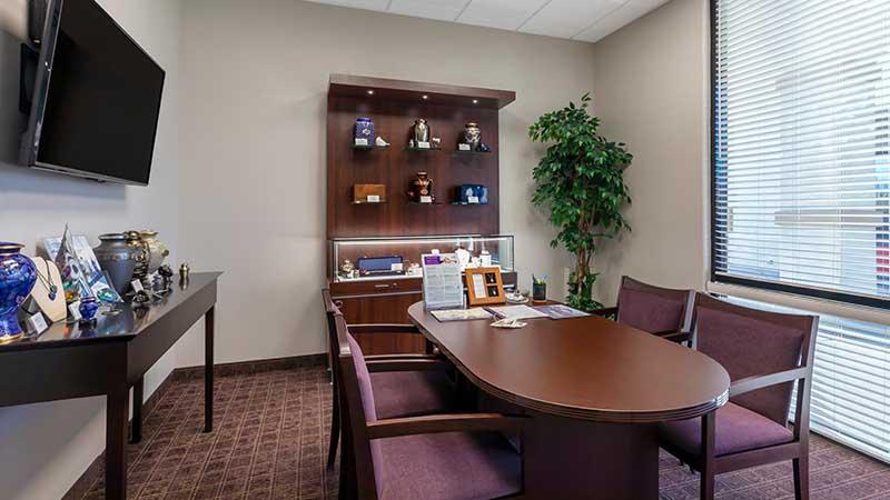 Neptune Society Cremation Services Las Vegas, NV arrangement room
