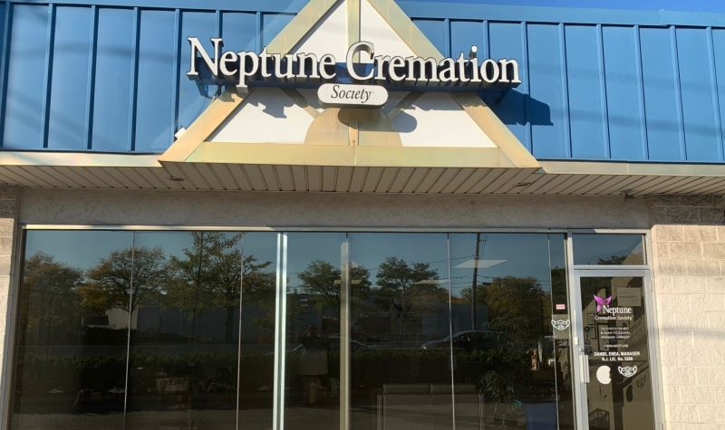 Neptune Society Cremation Services Paramus, NJ front entrance