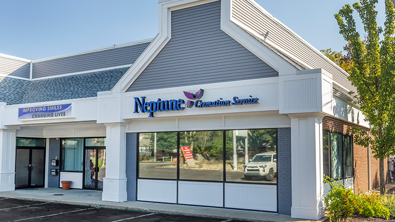 Neptune Cremation Service Boston, MA - Front of Building
