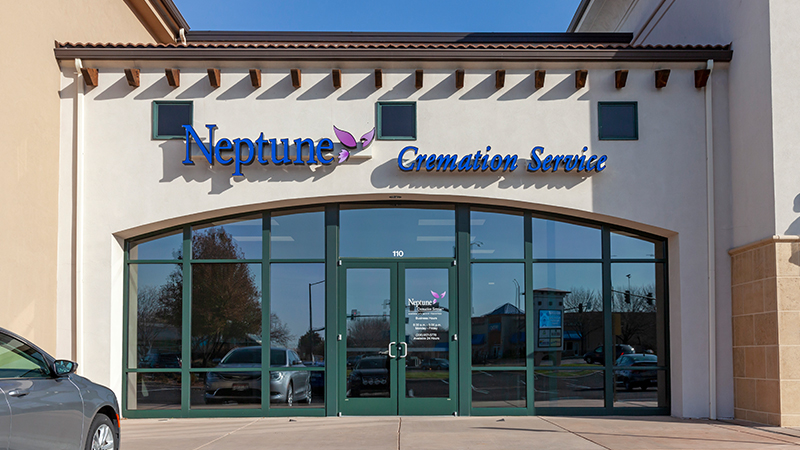 Neptune Society Cremation Services Boise, ID entrance