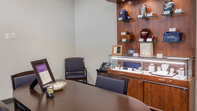 Neptune Society Cremation Services Hartford, CT arrangement room
