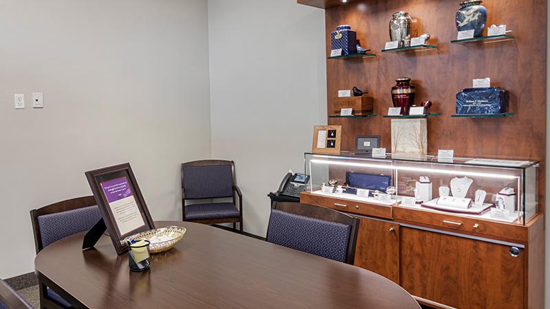 Neptune Society Cremation Services Hartford, CT arrangement room