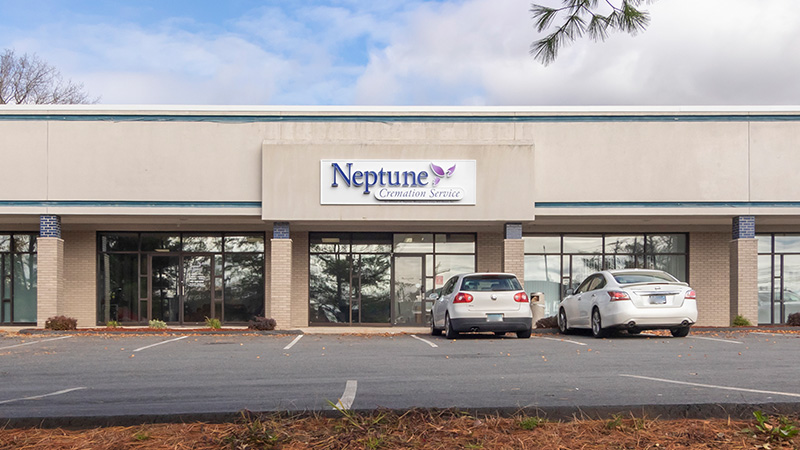 Neptune Society Cremation Services Hartford, CT front entrance