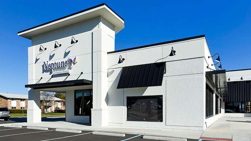 Neptune Cremation Service in Virginia Beach, VA - Exterior